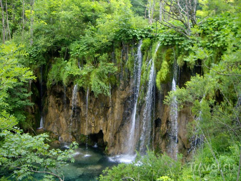 Плитвицкие озёра / Фото из Хорватии