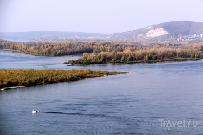 Вид с Лысой горы на Волгу и Жигули / Фото из России