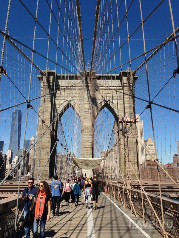 Нью-Йорк: Бруклинский мост, Брайтон бич и Централ парк / США