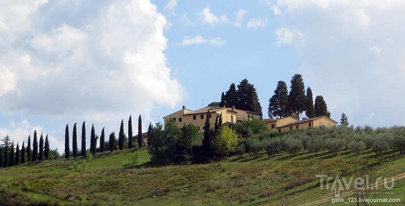 Форпост Монтериджони / Фото из Италии