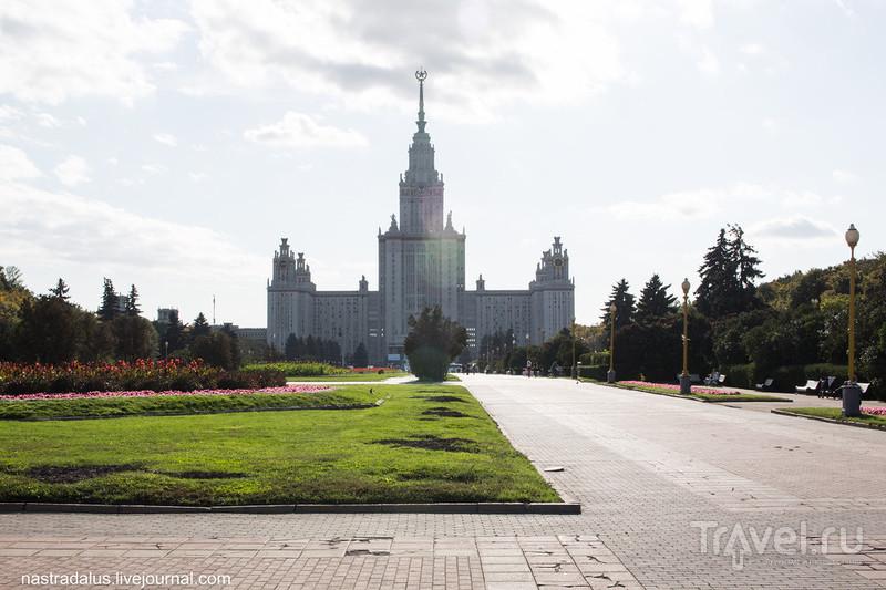 Прогулка по Воробьёвым горам / Россия