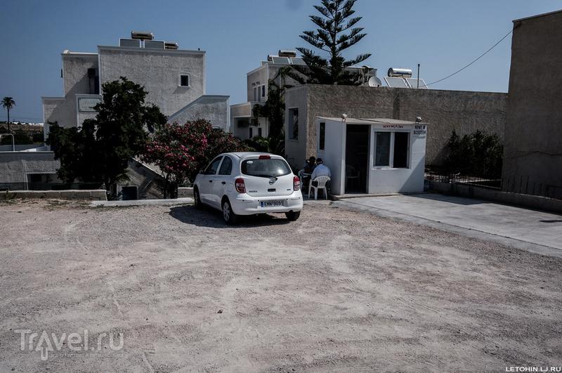 Непарадный Санторини / Фото из Греции