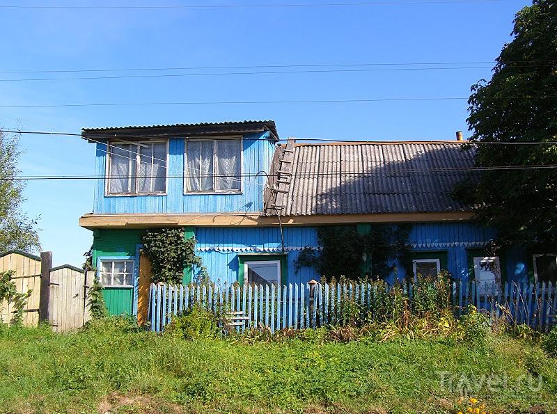 Трасса Р-92. Дома у дороги / Россия