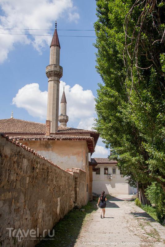 Ханский дворец - кусочек Турции в Крыму / Фото из России