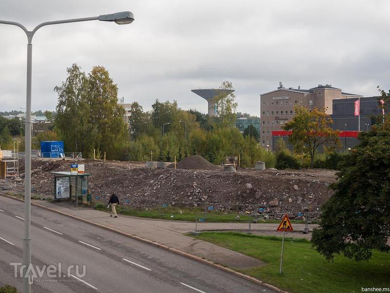 В Хельсинки за грибами. Бетонными / Финляндия
