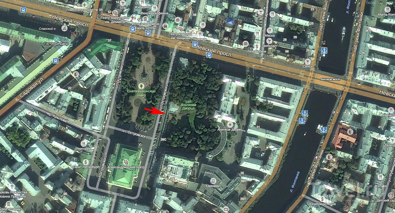 Тайный парк на Невском проспекте