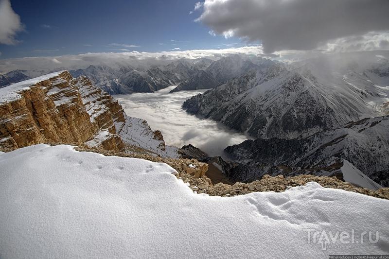 О вершинах Кавказа. Соухаузкая / Фото из России