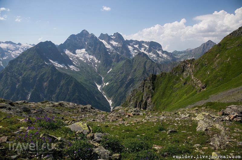 Путешествие в Верхний Кодор. Подъём к озеру убывающей Луны / Абхазия
