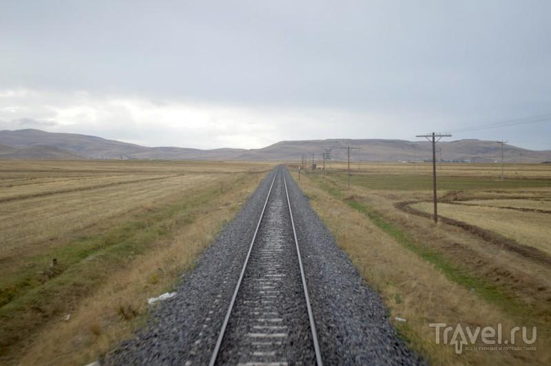 По железной дороге в Западную Армению. Путешествие из Анкары в Карс / Турция