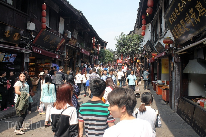 Китай: Чунцин. Старый город / Китай