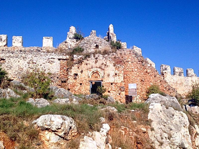 Алания. Короткий пляжный отдых и путешествие в Сиде / Турция