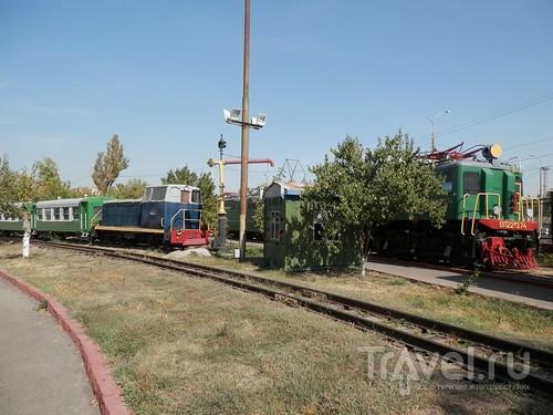 Музей паровозов в Ташкенте / Узбекистан