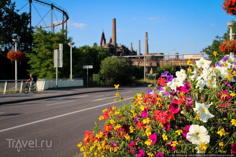 Музейный металлургический комбинат в Фёлклингене / Фото из Германии