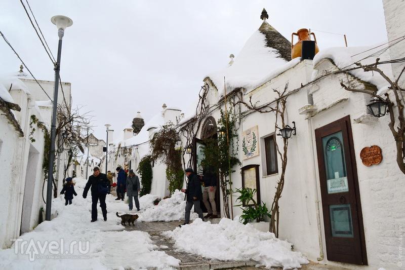 Италия. Альберобелло. Январь / Фото из Италии