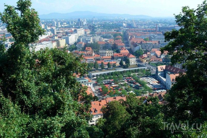 Любляна. Люблянский град / Словения