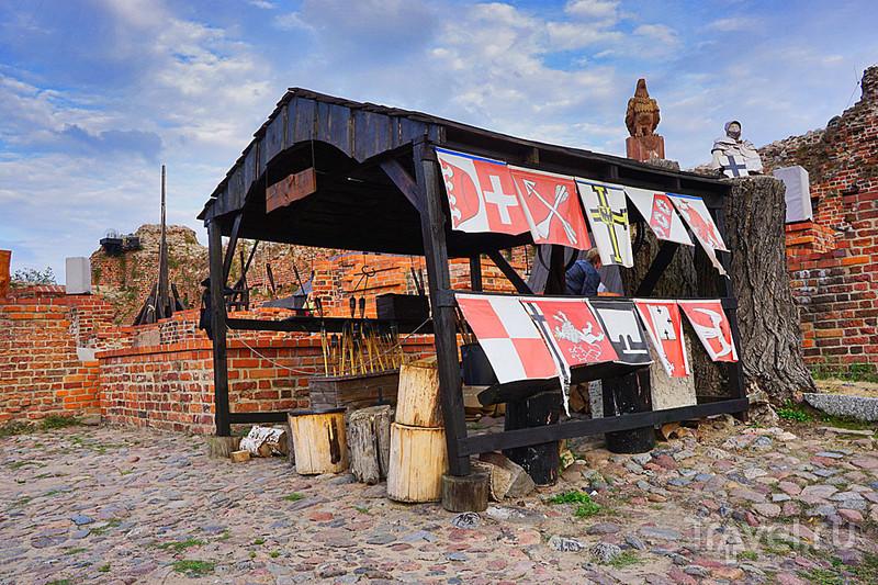 На развалинах Торуньского замка / Фото из Польши