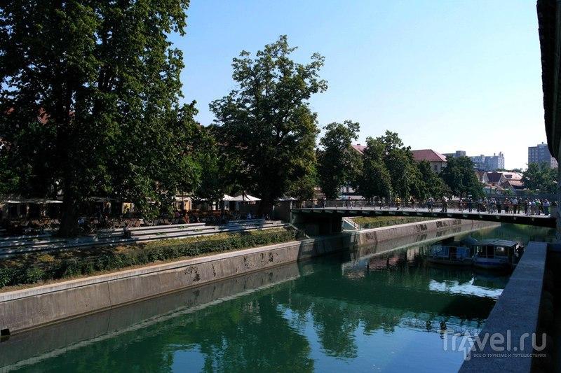 Любляна. Прогулка по городу. Центр / Словения