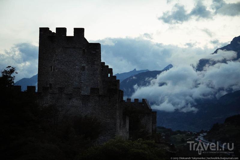 Сион и его замки / Швейцария