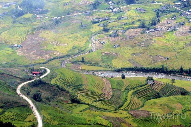 Горы северного Вьетнама - в деревне близ Шапы / Фото из Вьетнама