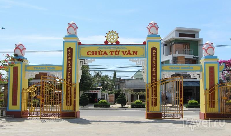 Вьетнам: Храм из ракушек и Лабиринт Дракона Chua Tu Van / Фото из Вьетнама