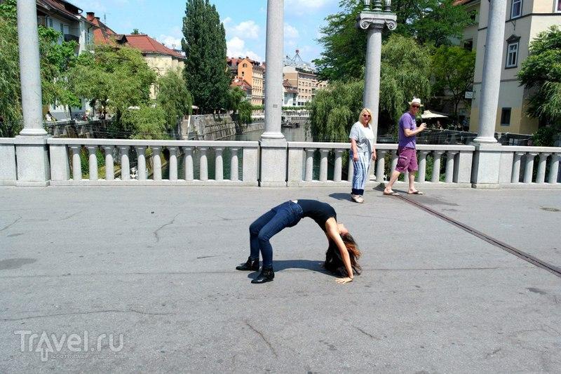Любляна. Словения - По городу / Словения