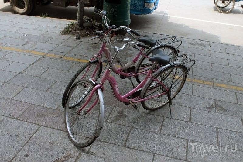 Китай: Яншо. Прогулка на велосипедах / Китай