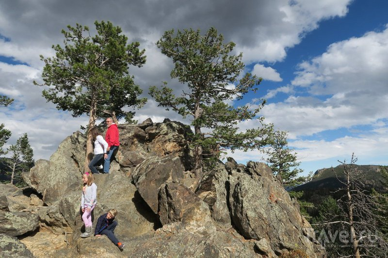 США: Шоссе через Скалистые Горы Колорадо / Фото из США