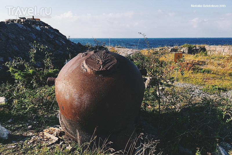 Военные укрепления на острове Ёрё в Финляндии / Фото из Финляндии