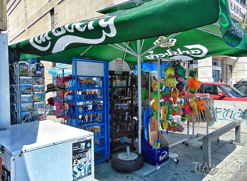 """Киоски """"Περίπτερο"""" - ещё одна характерная особенность греческого и кипрского быта"""