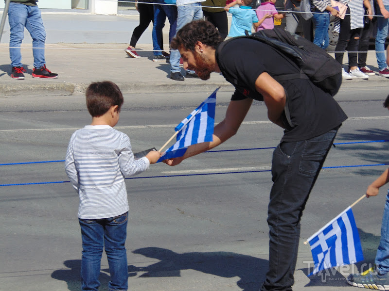 Охи, Муссолини! / Греция
