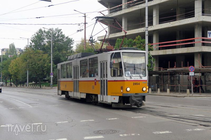 Общественный транспорт Софии / Болгария