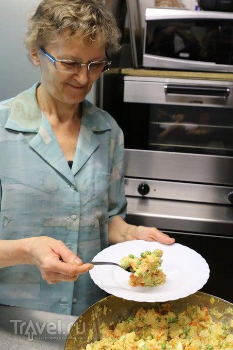 Русский салат. Итальянская версия / Италия