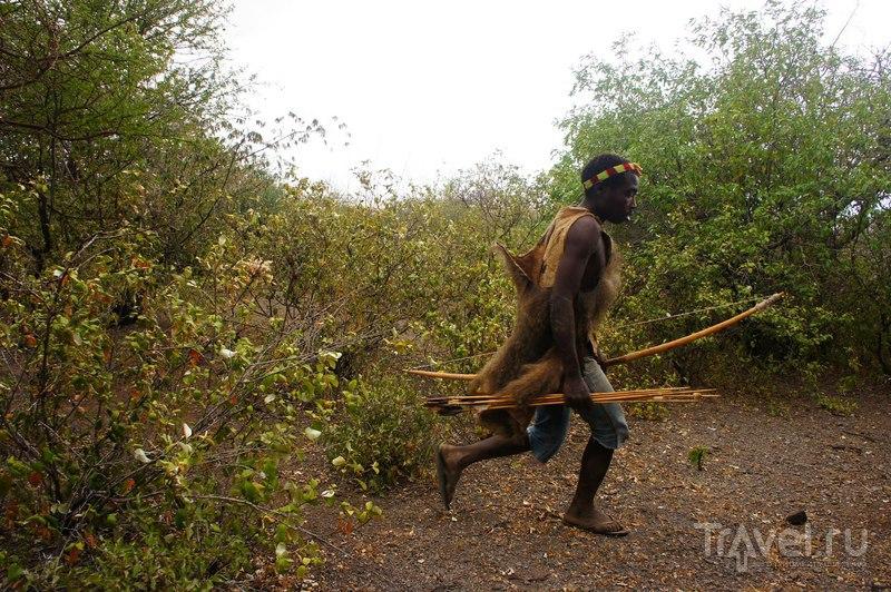 Племя Хатзабе, бушмены озера Эясси / Танзания