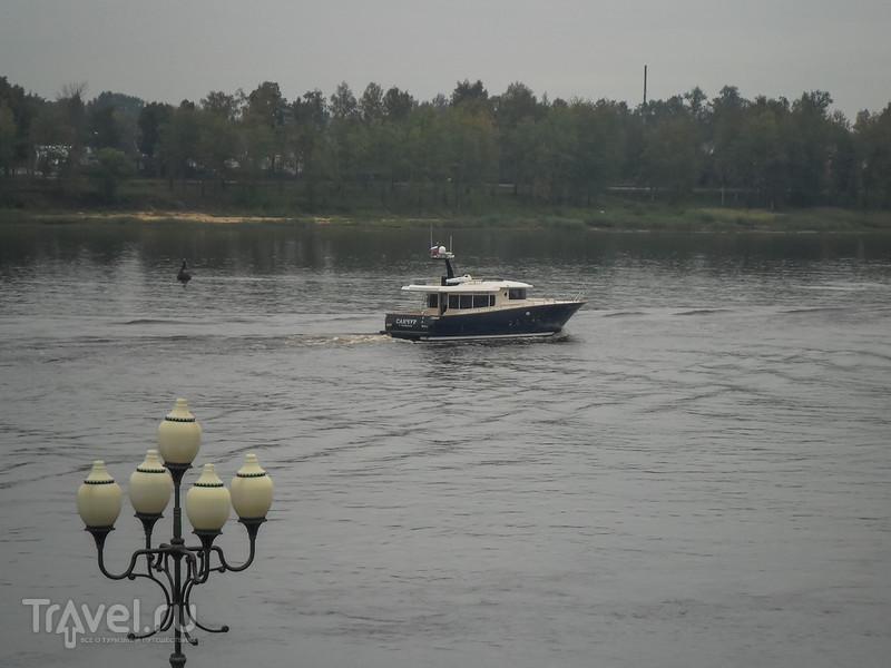 Из Рыбинска по Волге в Ярославль / Фото из России