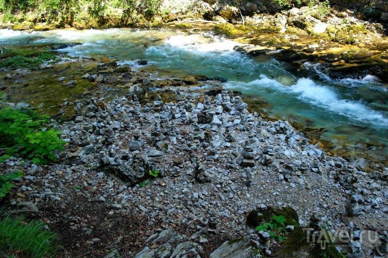Ущелье Винтгар. Водопад / Словения