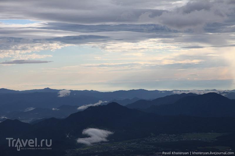 Япония. Восхождение на Фудзияму / Фото из Японии
