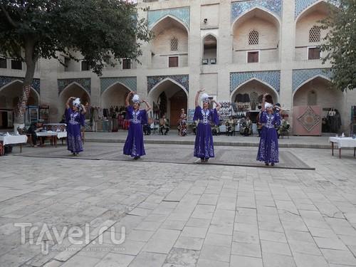 Танцы и моды в Бухаре / Узбекистан