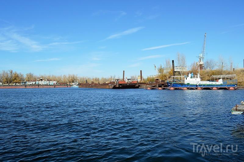 Волгоград. Прогулка на катере по Волге / Фото из России