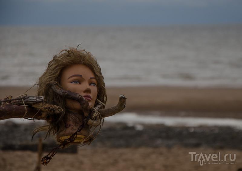 Арт-объект в духе северных викингов
