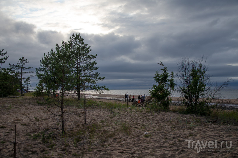 Дюны на берегу Белого моря