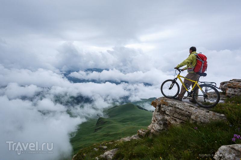 Кавказ на двух колесах. В тумане / Фото из России