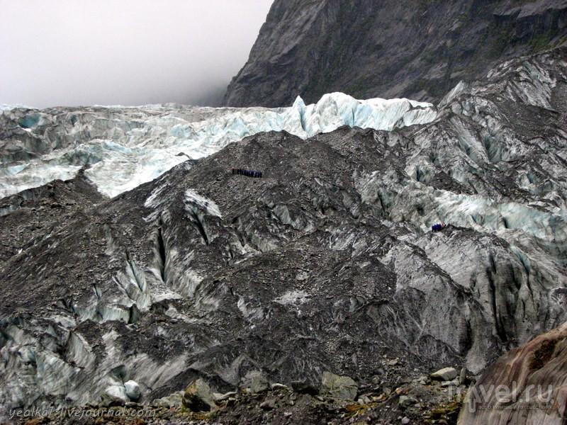 В стране антиподов. Ледник Франца-Иосифа / Фото из Новой Зеландии