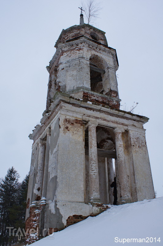 Храм Спаса Нерукотворного Образа в Братково / Россия