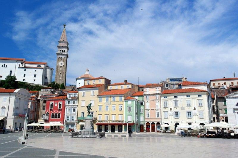 Пиран, Словения - Знакомство с городом / Словения