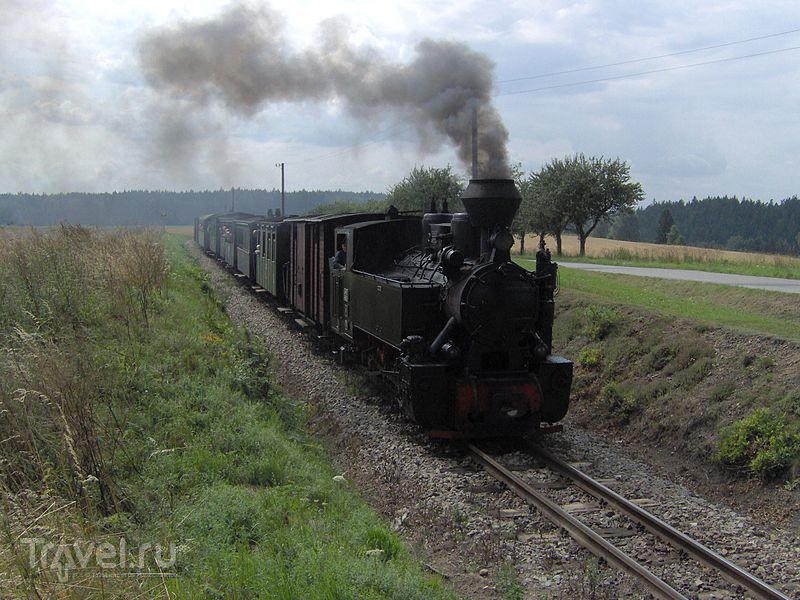 Йиндржихувградская узкоколейка / Фото из Чехии