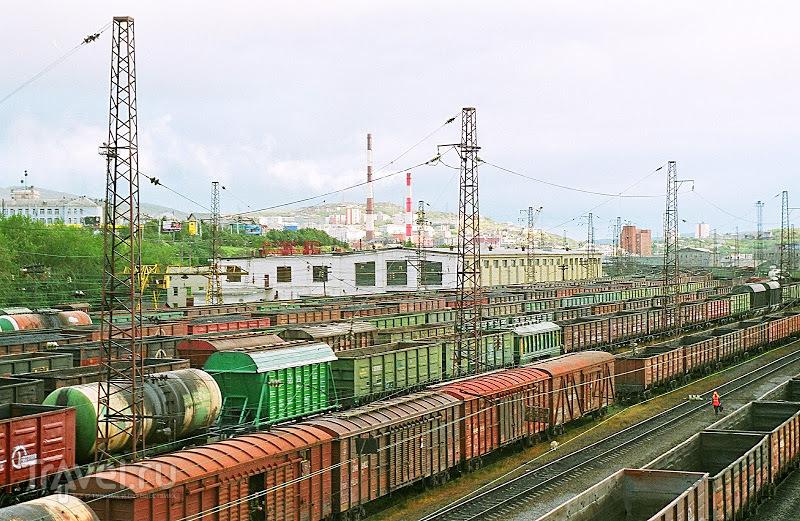 Мурманск. Дадим стране угля / Россия
