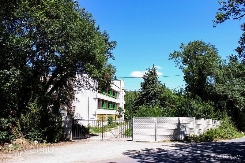 Пешая прогулка из Алушты в Лазурное / Фото из России