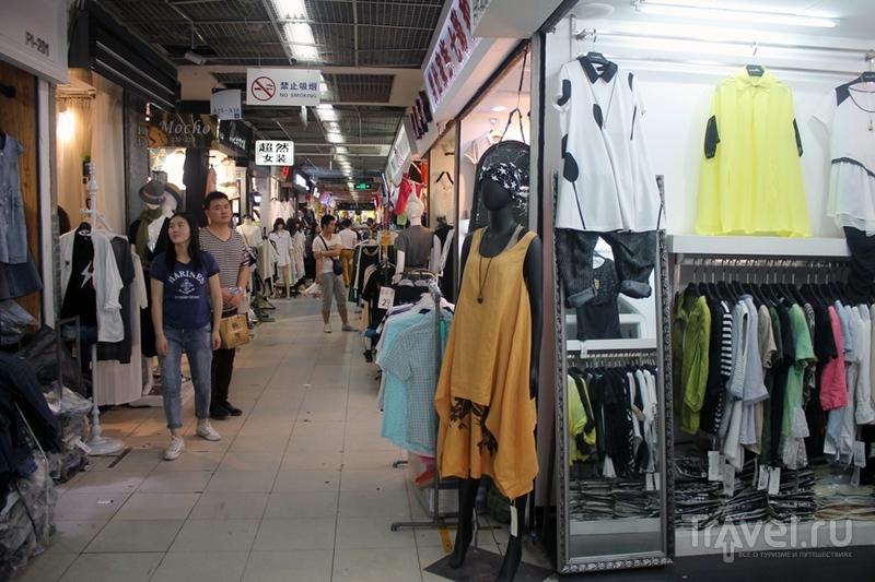 Китай: Шанхай. Шопинг / Китай