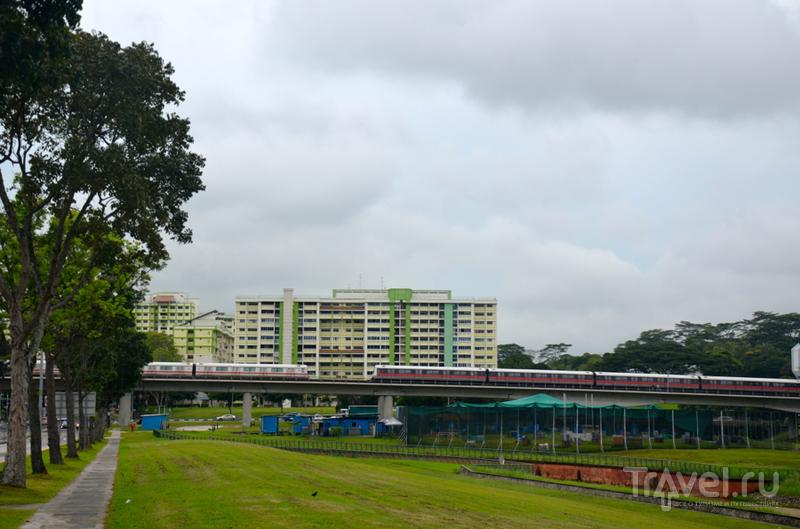 В Сингапур по земле / Сингапур