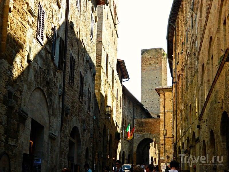 Средневековый Манхэттен / Фото из Италии